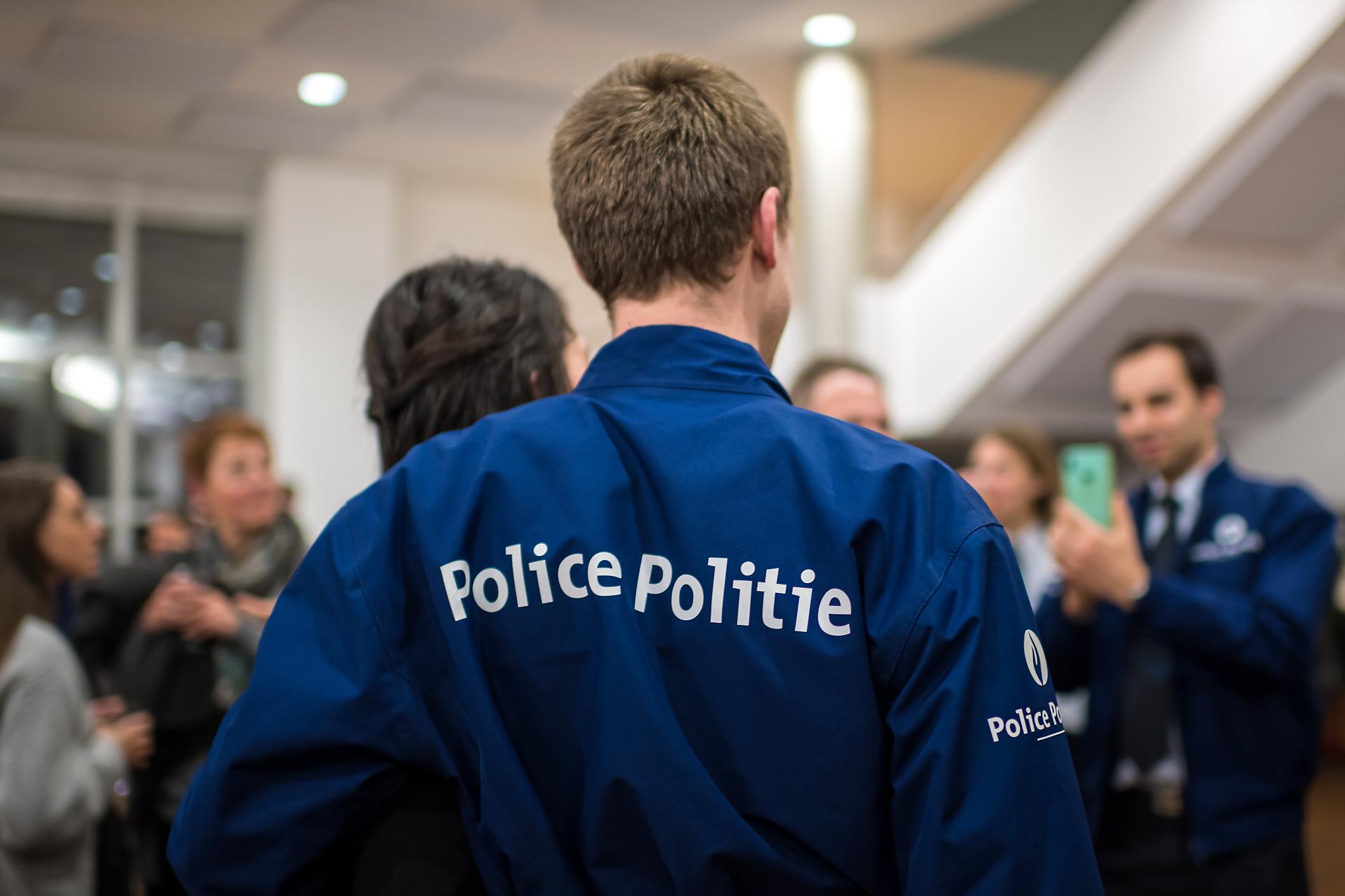 Foto van een politieman